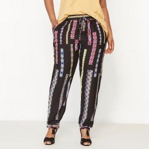 Pantalon fuselé imprimé CASTALUNA
