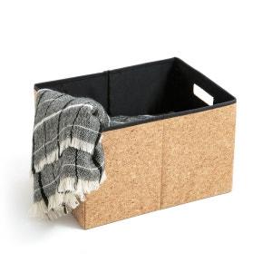 Boîte de rangement pliable en liège, taille M La Redoute Interieurs
