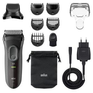 Rasoir électrique rechargeable Shave&Style 3000 BT BRAUN