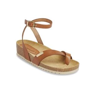 Sandálias em pele Pistache LES TROPEZIENNES PAR M.BELARBI