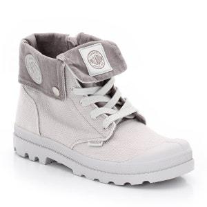 Zapatillas deportivas de caña alta de tela niña PALLADIUM