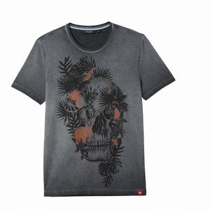 T-Shirt Halir, Rundhalsausschnitt, Totenkopfmotiv KAPORAL 5