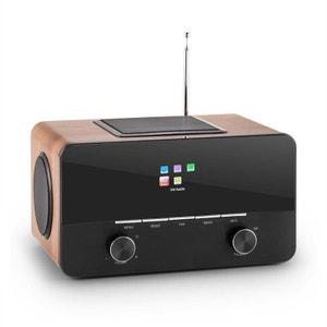 Connect 150 Radio internet 2.1 lecteur multimédia WiFi LAN USB DAB+ FM AUNA