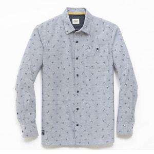 Bedrukt hemd met lange mouwen