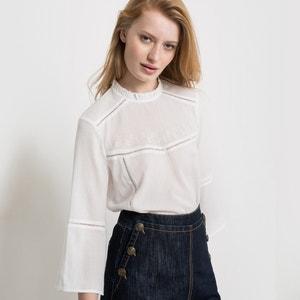 Blusa de crepé de algodón R studio