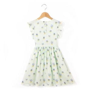 Kleid mit kurzen Ärmeln Kaktus-Print, 2-12 Jahre abcd'R