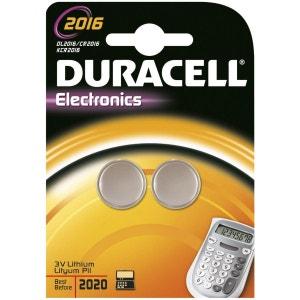 Pile DURACELL Lithium DL 2016 x2 DURACELL