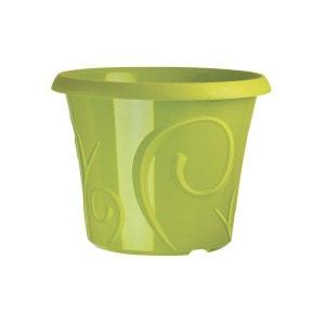 Pots de fleur 25 litres Volutes Vert + soucoupe CEP AGRICULTURE