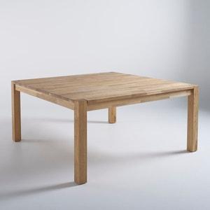 Table carrée, chêne massif, 8 couverts, Adelita La Redoute Interieurs