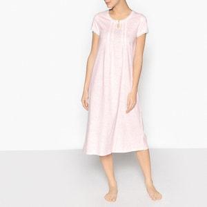 Nachthemd, Spitze und gekämmte Baumwolle ANNE WEYBURN