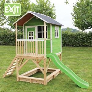 Maisonnette Enfant Loft 500 Vert LEKINGSTORE