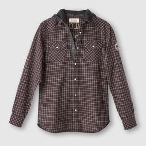 Geruit hemd met kap KAPORAL 5