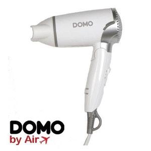 Sèche cheveux de voyage 1200W - Livré avec 2 adaptateur US et UK ! DOMO