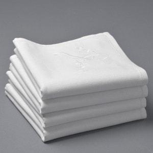 Serviettes de table en métis brodé jour poinçon(lo La Redoute Interieurs
