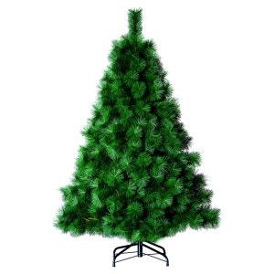 Sapin de Noël artificiel Aiguilles larges - H. 150 - Vert ROI DES PINS