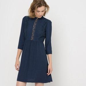 Vestido de encaje mangas 3/4 MADEMOISELLE R