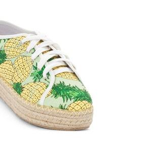 Sneakers met ananas print R édition