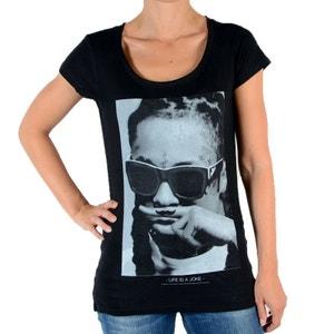Tee Shirt Lily W Lil Wayne Noir ELEVEN PARIS