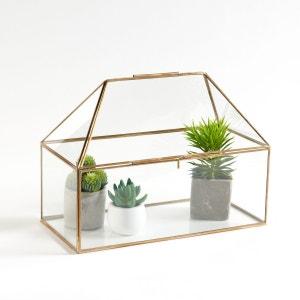 Serre en verre et laiton Uyova La Redoute Interieurs