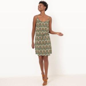 Bedrukte korte jurk La Redoute Collections