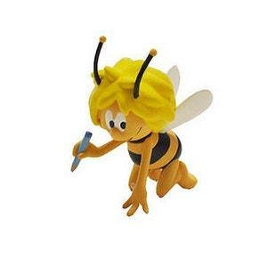 Figurine Maya l'abeille qui écrit BULLYLAND