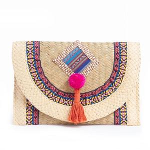Pochette, paille et textile La Redoute Collections