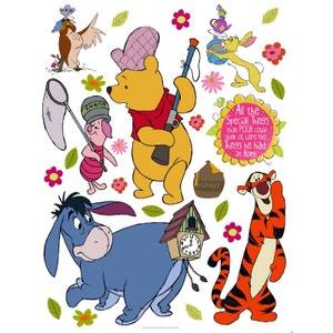 Stickers géant Winnie l'Ourson à la chasse Disney WALLTASTIC