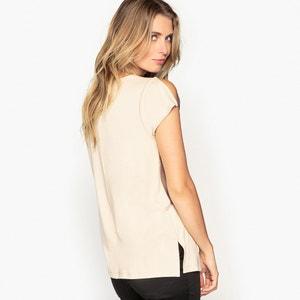 T-shirt bi-matière ANNE WEYBURN
