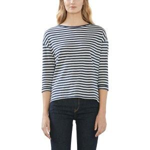 Tee-shirt manches 3/4 marinière ESPRIT