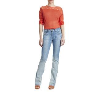 Jeans Meltin Pot Nicole Flare Bleu Bleached Femme MELTIN POT