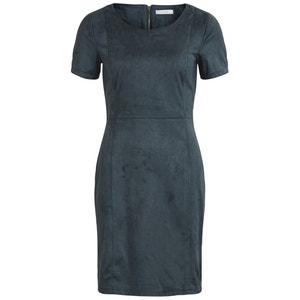 Short-Sleeved Midi Dress VILA