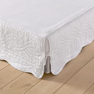 Funda para somier acolchada con parte superior de tela de algodón SCENARIO