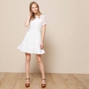 Kleid, Materialmix CARVEN