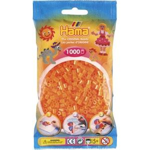 Sachet de 1000 perles Hama Midi : Orange Néon HAMA