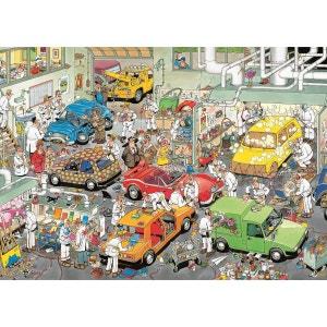 Jan van Haasteren - Puzzle Comic Au Garage - DIS617281 JUMBO