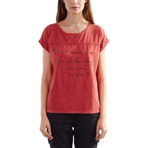 T-Shirt, bedruckt, runder Ausschnitt S OLIVER