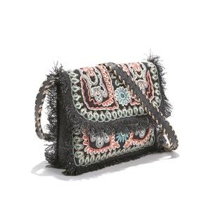 Clutch bordada com borlas e cordões, MALIA BAG ANTIK BATIK