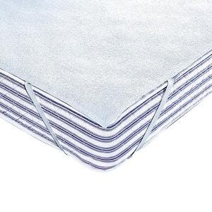 Matrasbeschermer in badstof 250 g/m² met waterafstotende polyurethaan coating REVERIE