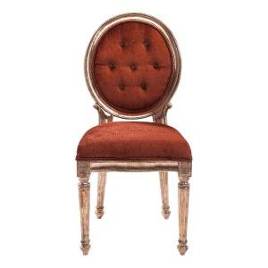 Chaise Louis rouge cuivré Kare Design KARE DESIGN