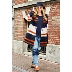 Manteau en laine mélangée MS MODE
