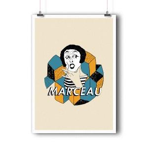 Affiche d'art Marcel Marceau BALIBART