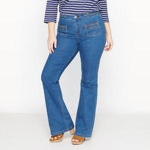 Flare jeans, heel wijd CASTALUNA