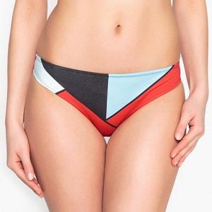 Graphic Print Bikini Bottoms La Redoute Collections