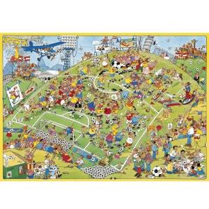 Jan van Haasteren - Puzzle Comic 500 Football - DIS617276 JUMBO