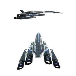 Mass Effect - Replique du -SR-2 Alliance Normandy (16 cm) DARK HORSE