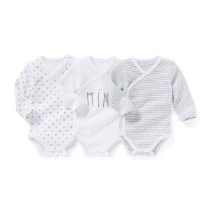 Body naissance coton bio 0 mois-3 ans (lot de 3) R essentiel