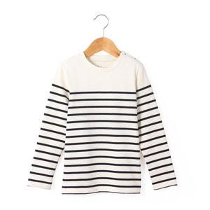 Gestreept T-shirt in marine spirit R essentiel