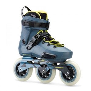 Rollerblade roller freeskate twister edge edition #1 - 2018 gris bleu ROLLERBLADE