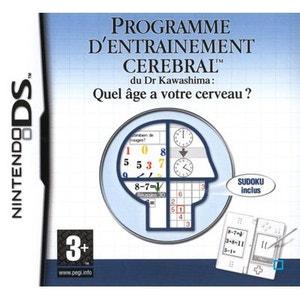 Programme d'Entraînement Cérébral du Dr Kawashima : Quel âge a votre Cerveau ? Nintendo DS NINTENDO
