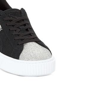 Sneakers met sleehak Suede Platform Glam PUMA